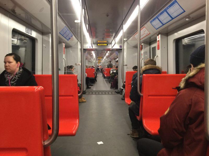 caterpillar shoes tehran metro passengers rotten