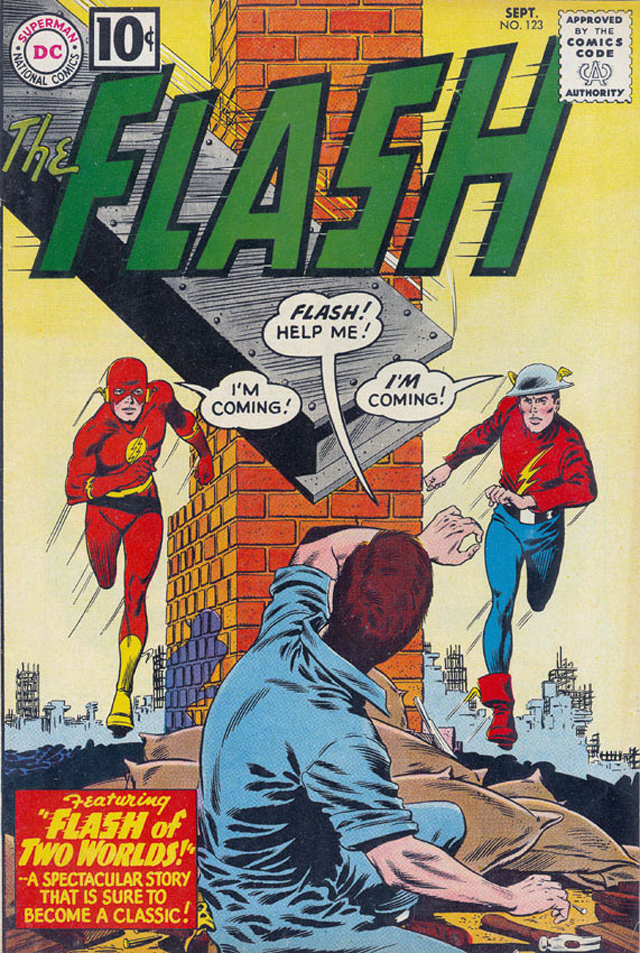 Flash 123: arguably one of the three most famous covers in comic book history